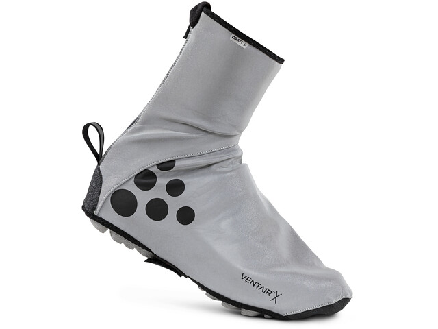 Craft Glow Booties Unisex, silver/black | shoecovers_clothes